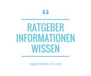 Profi Wagenheber